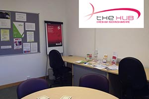 Chesham Library business hub