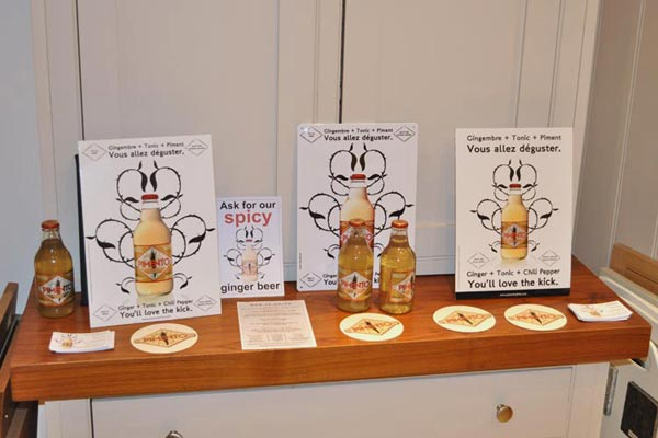 pimento spicy ginger beer at Chiltern Chamber food evening April 2015