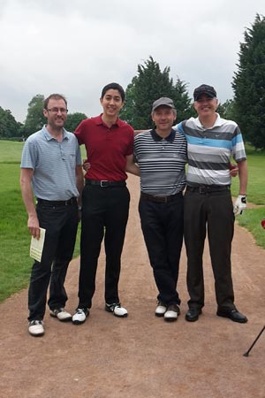 Chiltern Chamber Golf Day 2015 - Barnett Waddingham team