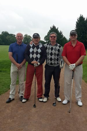Chiltern Chamber Golf Day 2015 - Bedford Arms team