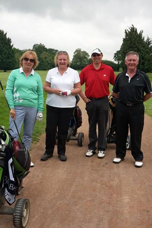 Chiltern Chamber Golf Day 2015 - Graham Hull team