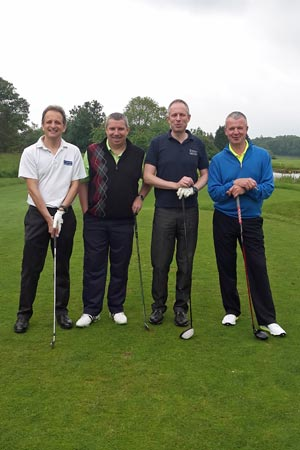 Chiltern Chamber Golf Day 2015 - Wilkins Kennedy team