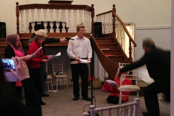 melodrama featuring Panda Players and members of Chiltern Chamber