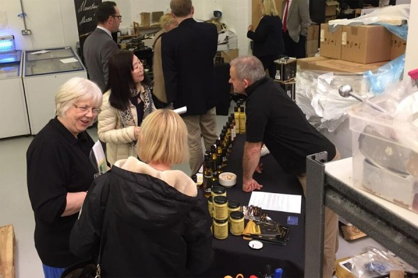 Chiltern Cold Pressed Oils at Chiltern Food Heroes event April 2016