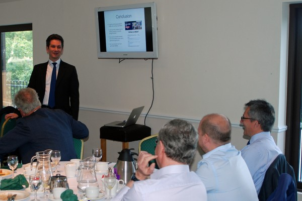 Steve Baker MP at Chiltern Chamber breakfast