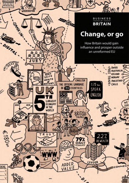 Change, or go - book cover