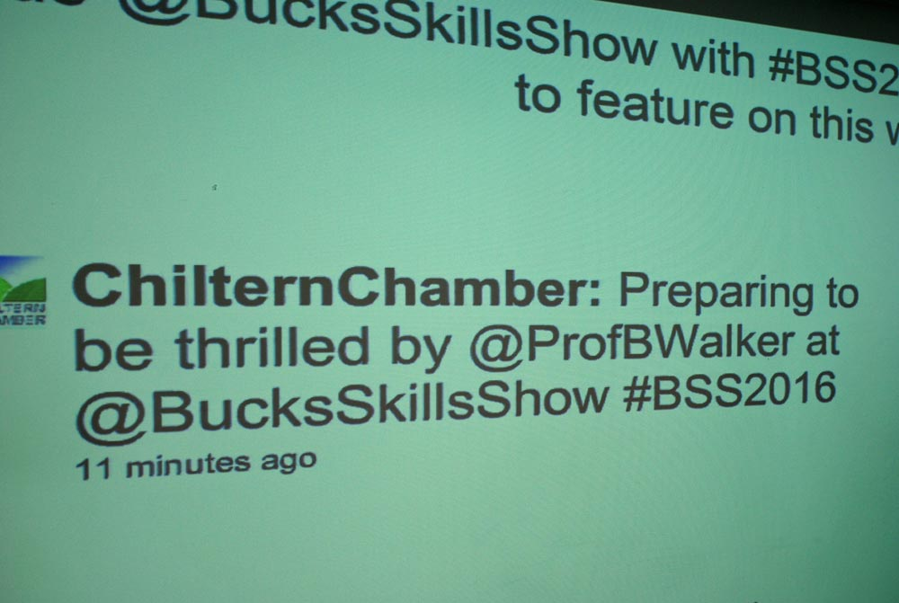 tweet board bucks skills show 2016