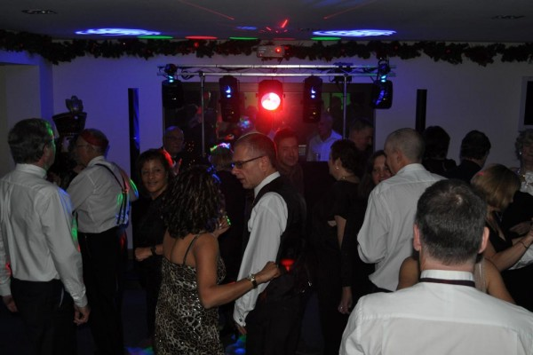 Disco at Chiltern Chamber Christmas dinner and dance