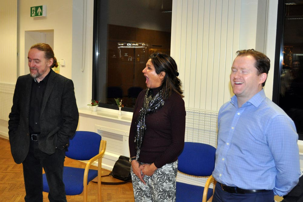 Laughter Yoga session with United Mind and Chiltern Chamber of Commerce