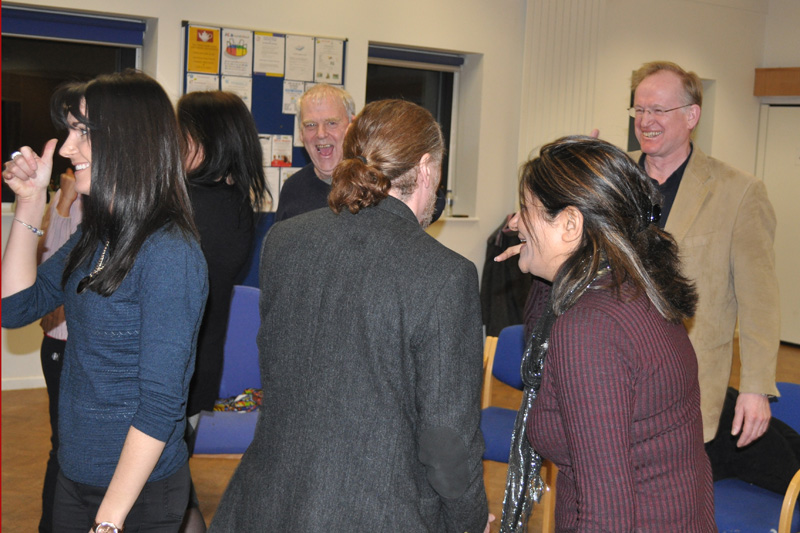 Chiltern Chamber laughter yoga networking evening