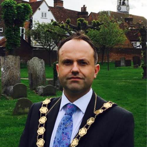 Mark Vivis mayor of Amersham