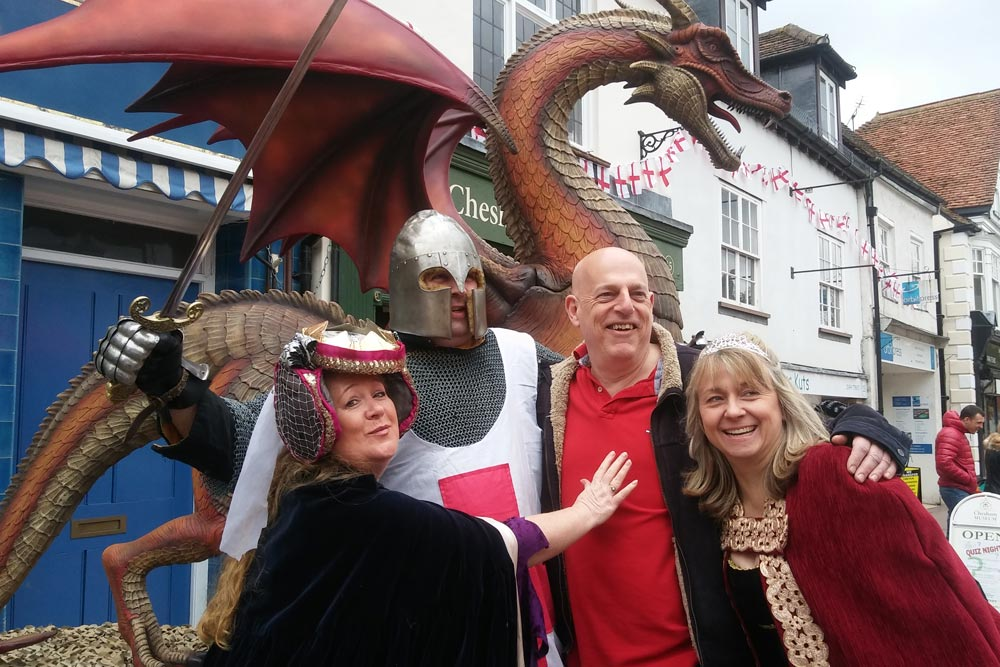 Group pic St Georges day Chesham 2017