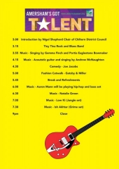 event guide for amershams got talent